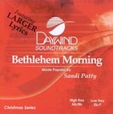 Bethlehem Morning, Accompaniment CD