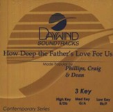 How Deep the Father's Love, Accompaniment CD