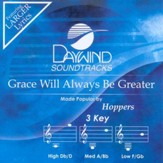 Grace Will Always be Greater, Accompaniment CD