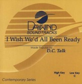 I Wish We'd All Been Ready, Accompaniment CD
