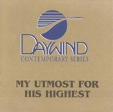 My Utmost For His Highest, Accompaniment CD