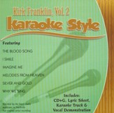 Kirk Franklin, Vol. 2, Karaoke CD