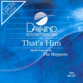 That's Him, Accompaniment CD