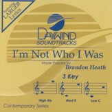 I'm Not Who I Was, Accompaniment CD