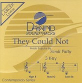 They Could Not, Accompaniment CD