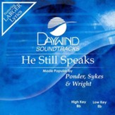 He Still Speaks, Accompaniment CD
