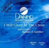 I Will Glory in the Cross, Accompaniment CD