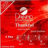 Thankful, Accompaniment CD