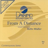 From A Distance, Accompaniment CD
