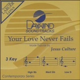 Your Love Never Fails, Accompaniment CD