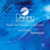 Surely The Presence Of, Accompaniment CD