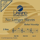 No Longer Slaves, Accompaniment CD
