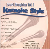 Israel Houghton Karaoke, Vol. 1 CD