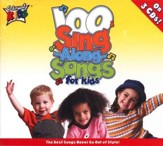 100 Singalong Songs for Kids, 3 CDs