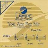 You Are For Me, Accompaniment CD