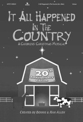 It All Happened in the Country, 20th Anniversary Edition (Split-Track Accompaniment)