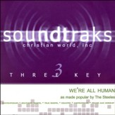 We're All Human Accompaniment, CD