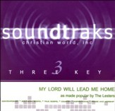 My Lord Will Lead Me Home Accompaniment, CD