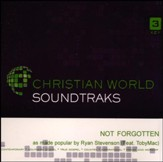 Not Forgotten, Accompaniment CD