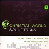 More Than You Think I Am, Accompaniment CD