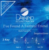 I've Found a Faithful Friend, Accompaniment CD