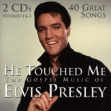 He Touched Me: The Gospel Music of Elvis Presley, 2 CDs