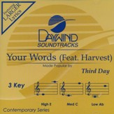 Your Words (Feat. Harvest), Accompaniment CD