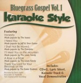 Bluegrass Gospel, Volume 1, Karaoke Style CD