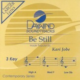 Be Still, Accompaniment CD