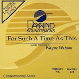 For Such A Time As This, Accompaniment CD