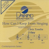 How Can I Keep from Singing, Accompaniment CD