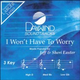 I Won't Have to Worry, Accompaniment CD