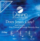 Does Jesus Care? Accompaniment, CD