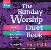 Sunday Worship Duet Book, Split-Channel /  2 CD-Set