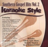Southern Gospel Hits, Volume 2, Karaoke Style CD