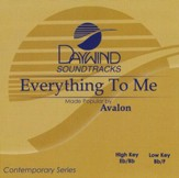 Everything to Me, Accompaniment CD