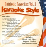 Patriotic Favorites, Volume 3, Karaoke Style CD