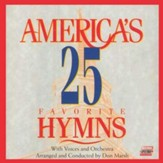 America's 25 Favorite Hymns, Vol. 1 Split Track, CD