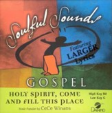 Holy Spirit, Come and Fill This Place, Accompaniment CD