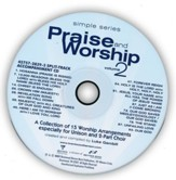 Simple Series Praise & Worship, Volume 2 (Split-Track Accompaniment)