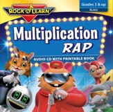 Multiplication Rap CD & Printable  Book