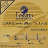 10,000 Reasons (Bless the Lord), Accompaniment CD