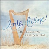 Love Divine - Instrumental Harp and Guitar