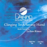 Clinging To A Saving Hand, Accompaniment CD