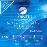 No One Ever Cared for Me Like Jesus Accompaniment, CD