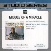Middle of A Miracle Accompaniment, CD