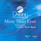 More Than Ever, Accompaniment CD