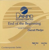 End of the Beginning, Accompaniment CD