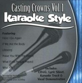 Casting Crowns, Volume 1 Karaoke Style CD
