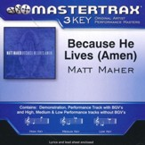 Because He Lives (Amen), Accompaniment CD  - Slightly Imperfect